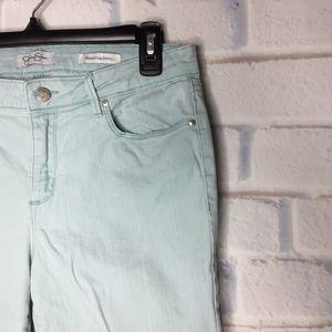 Jessica Simpson Light Blue 12/31 Crop Skinny Jeans